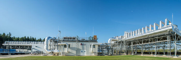 Panoramica impianto geotermia